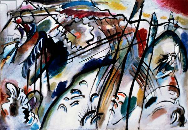 Improvisation 28 (second version), 1912 (oil on canvas)