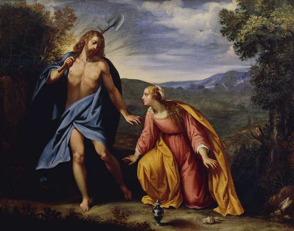 Noli Me Tangere (Touch Me Not), by Giuseppe Cesari, known as the Cavalier d'Arpino (1568-1640)