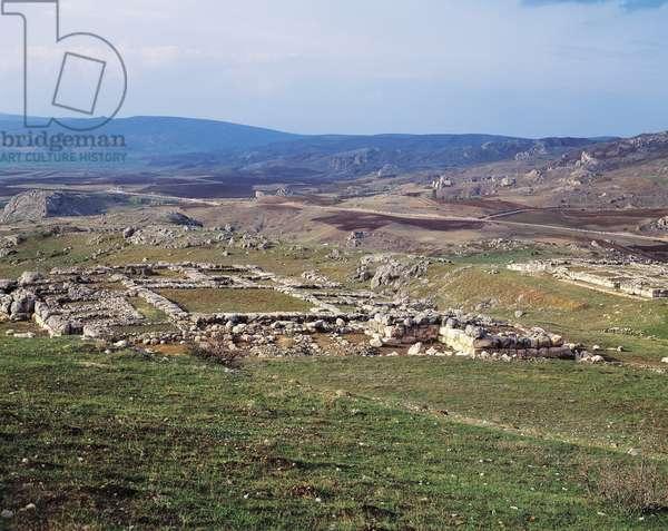 Turkey, View of Hattusa, ancient capital of Hittite Empire