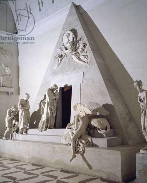 Maria Christina of Austria funerary monument by Antonio Canova (1757-1822)