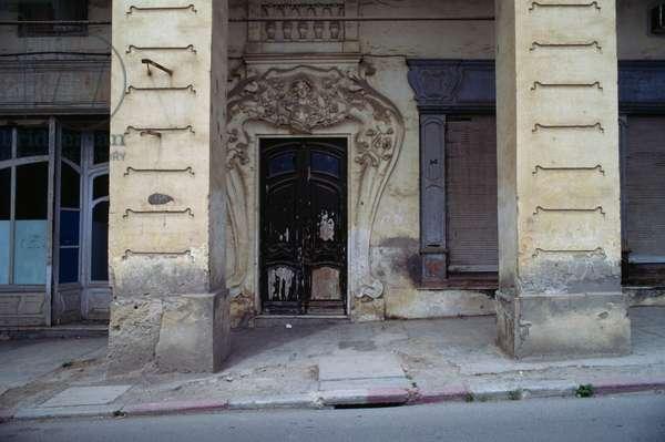 Art Nouveau-style building, Bejaia, Algeria