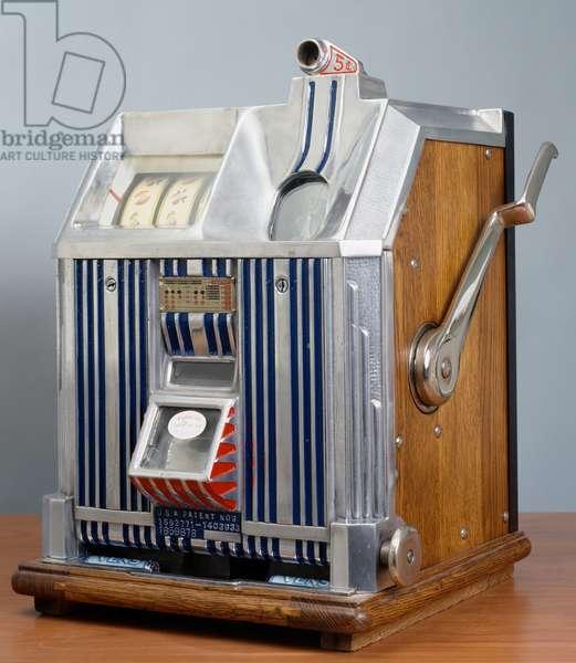 Royal Duchess Pace slot machine, 1938, modern art, 20th century