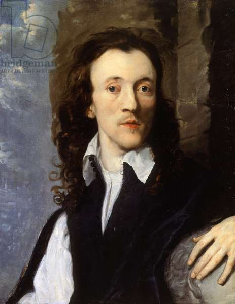 Portrait of Nathaniel Lee (1653-1692), English actor and playwright, Oil on canvas