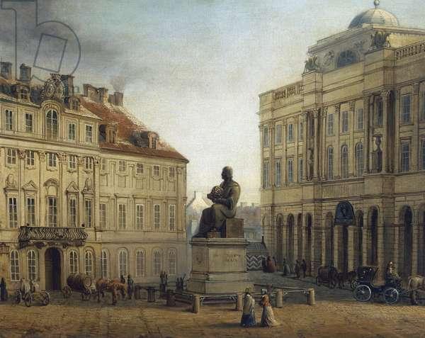 Poland, Warsaw, Mikolaj Kopernik (Nicolaus Copernicus) Square