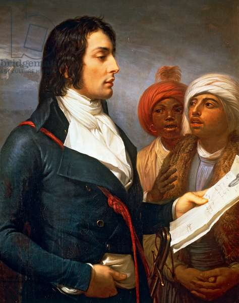 Portrait of Louis Charles Antoine Desaix (Ayat-sur-Sioule, 1768-Marengo, 1800), French general. Painting by Andrea Appiani.