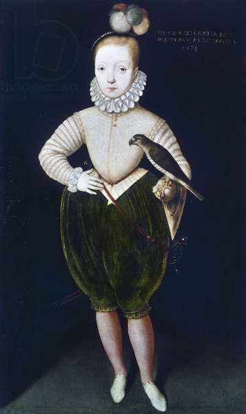 King James I of England and VI of Scotland (oil on canvas)