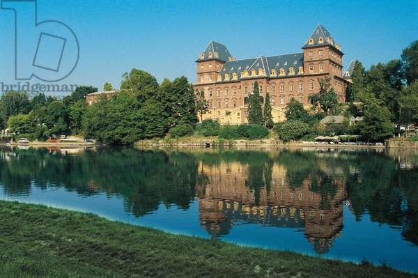 Castle of Valentino, 16th-17th century, Savoy residence (UNESCO World Heritage List, 1997), Turin, Piedmont, Italy