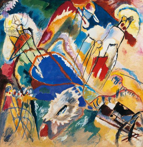 Improvisation No 30 (Cannons), 1913, by Wassily Kandinsky (1866-1944). Russia, 20th century.