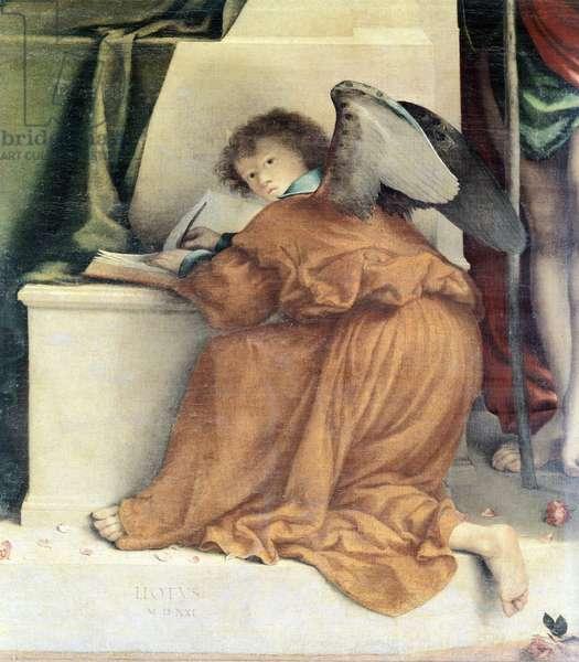 San Bernardino Altarpiece, 1521, (oil on canvas)