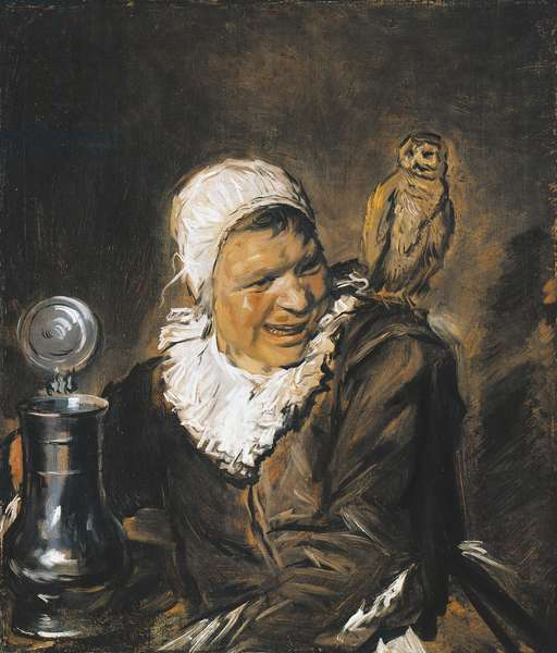 Malle Babbe (Witch of Haarlem), 1633-1635 (oil on canvas)
