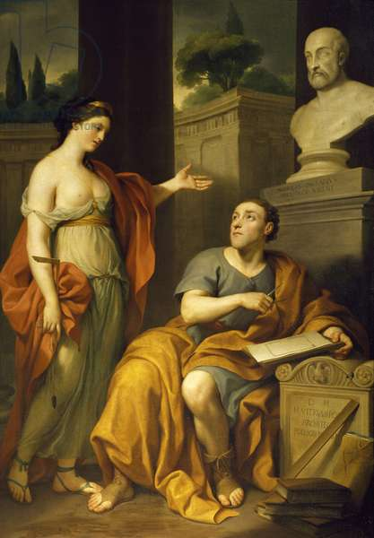 Allegorical Portrait of James Caulfield, Lord Charlemont, by Anton Raphael Mengs, 1756-1758, 1728-1779