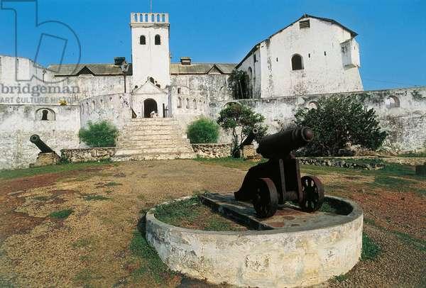 St James Fort, 17th century, Elmina, Gold Coast, Ghana