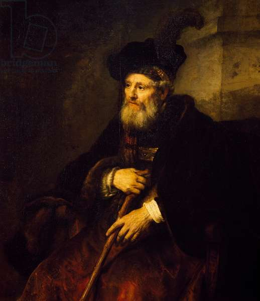 Portrait of an Old Man, 1645 (oil on canvas)