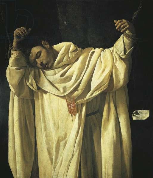 Martyrdom of St Serapion, 1628, by Francisco de Zurbaran (1598-1664), oil on canvas.