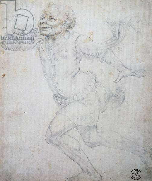 Grotesque figure, By unknown artist, Design, 2323f, Italy, 15th-16th century