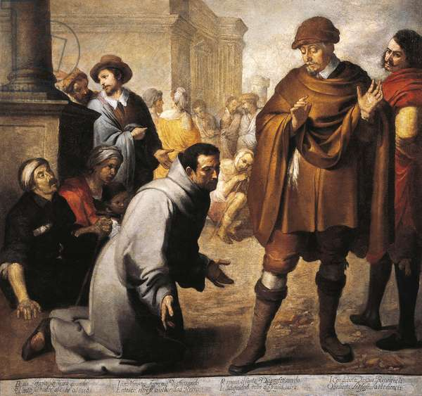 Saint Salvador of Horta and Inquisitor of Aragon, by Bartolome Esteban Murillo (1618-1682)
