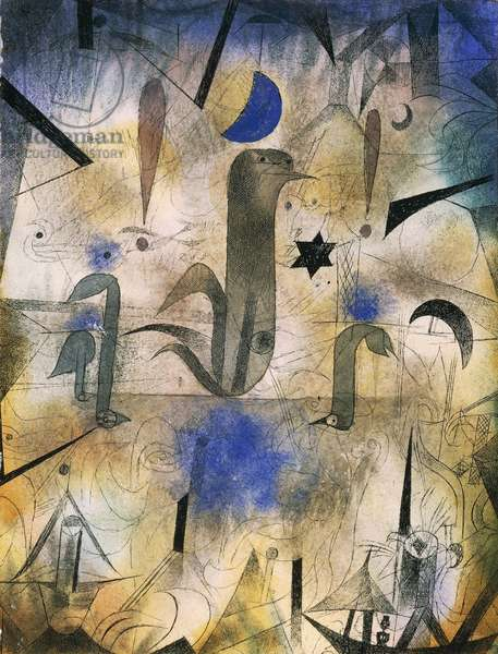 Sirens of ships, 1917, by Paul Klee (1879-1940)