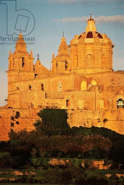 Cathedral of St Paul, 1697-1702, architect Lorenzo Gafa, Mdina, Malta, 17th-18th century