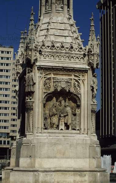 Monument to Christopher Columbus, 1881-1885, Plaza de Colon, Madrid, Spain