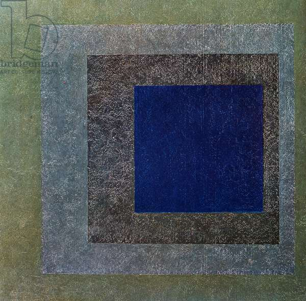 Homage to the Square, 1958 by Josef Albers (1888-1976), Op Art, Germany, 20th century
