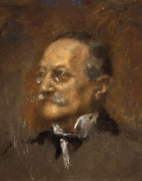 Portrait of Arrigo Boito (oil on canvas)