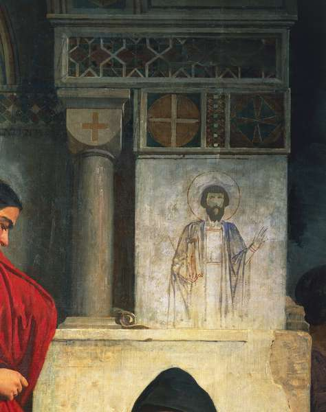 The Iconoclasts, by Domenico Morelli, 1855, oil on canvas