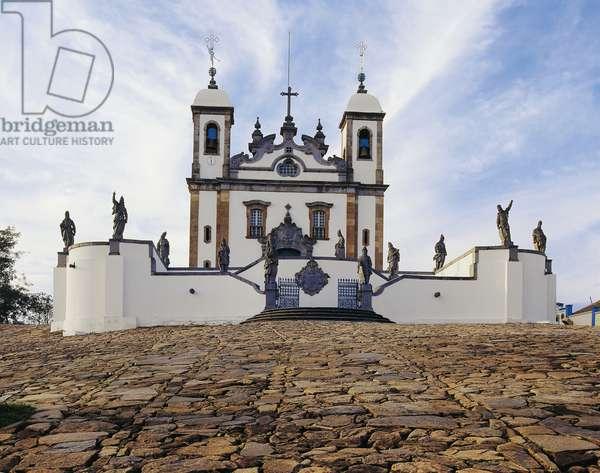 Bom Jesus de Matosinhos Sanctuary, Congonhas do Campo, Minas Gerais, Brazil. (photo)