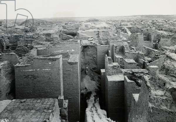Babylon, first phase of Ishtar Gate excavations, Iraq, 20th century