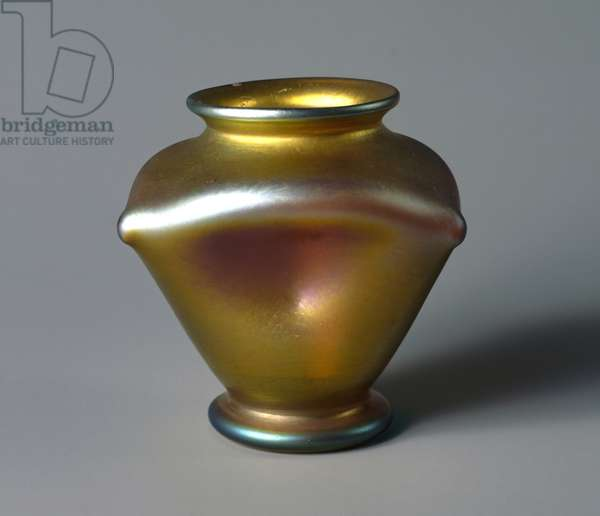 Favrile glass vase, by Louis Comfort Tiffany, United States of America, 20th century