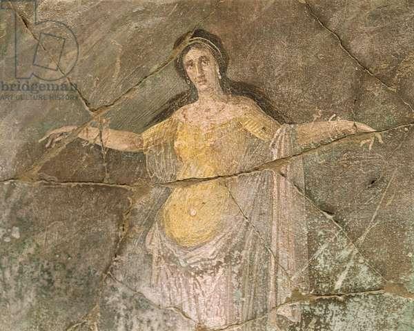 Italy, Campania Region, Naples Province, Pompei, House of Priest Amandus, Fresco depicting Andromeda