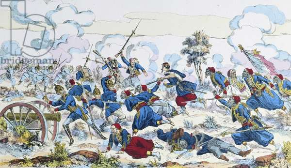Battle of Wissembourg, August 4, 1870, Franco-Prussian War, France, 19th century