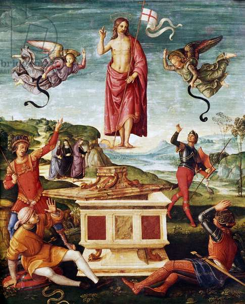 Resurrection of Christ, 1501-1502 (oil on panel)