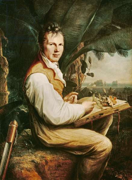 Alexander von Humboldt, 1809 (oil on canvas)