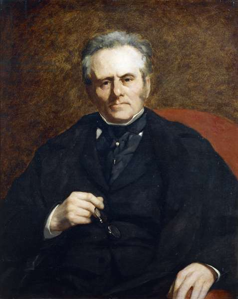 Portrait of William Sisley, by Pierre-Auguste Renoir, 1864, 1841-1919