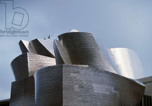 Guggenheim museum in Bilbao, 1997, by architect Frank Gehry (1929), Basque country, Spain, 20th century