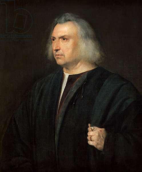 Portrait of Man (or physician Gian Giacomo Bartolotti from Parma),  1518