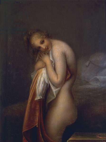 Surprise, by Antonio Canova (1757-1822), oil on canvas, 100x75 cm, 1798-1799