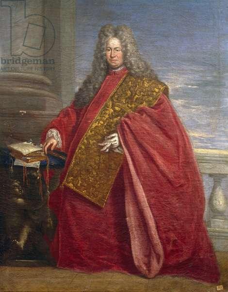 Portrait of Procurator of Venice, 18th century painting