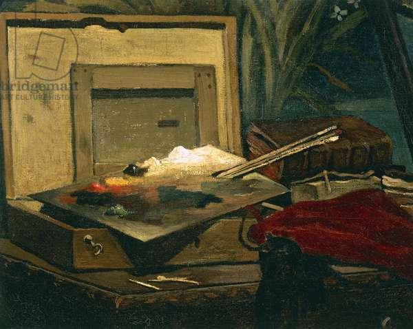 A Corner of the Studio, by Claude Monet, 1861, 1840-1926