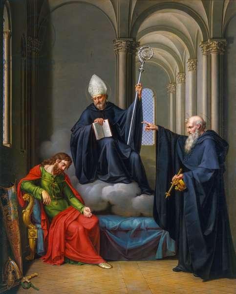 Ugo Capeto's vision, 1819-1832, painting by Pietro Nocchi (ca 1783-ca 1855), oil on canvas, 186x145 cm