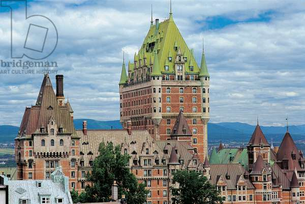 Chateau Frontenac, 19th-20th century, Quebec, Canada