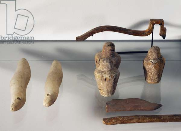 Objects for Opening of Mouth ceremony, Egyptian civilization, New Kingdom