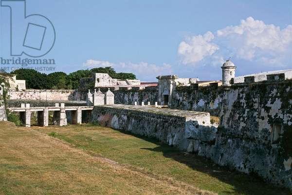 Fort of St Charles of la Cabana or Fort of La Cabana, 18th century, Havana, Cuba