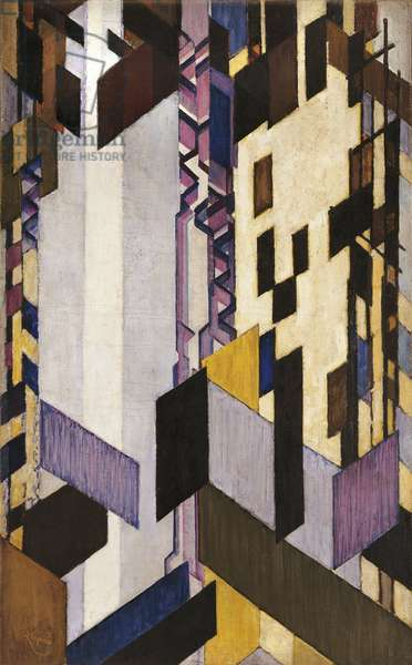 Diagonal and vertical surfaces, 1913-24
