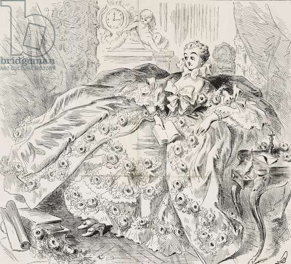 Madame de Pompadour, mother of grace and crinoline, by Boucher, some of the masterpieces of the French School, exhibition at the Boulevard des Italiens