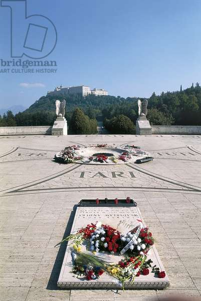 Italy, Lazio Region, Frosinone Province, Polish war cemetery at Monte Cassino
