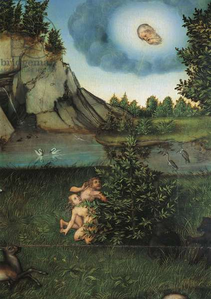 Detail of Paradise, c.1530 (oil on panel)