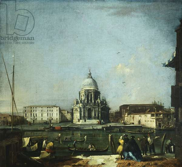 Santa Maria della Salute in Venice by Francesco Guardi (1712-1793)