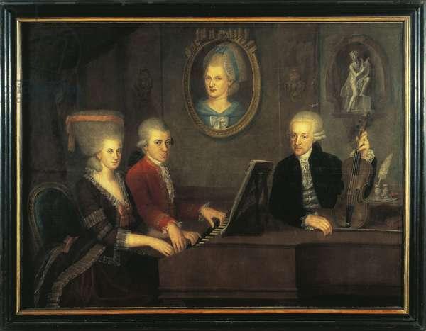 Austria, Salzburg, Mozart Family