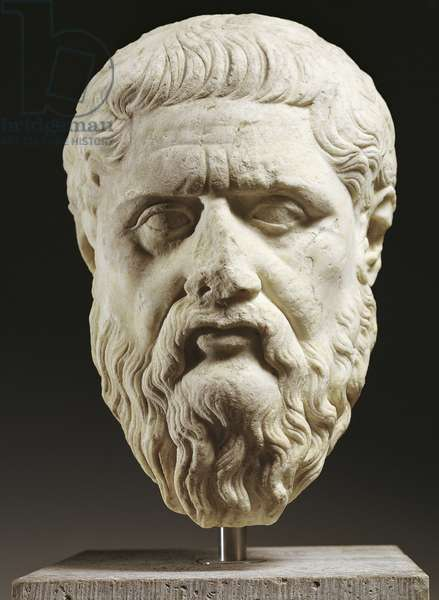 Bust of Plato (428 or 427 BC-348 or 347 BC)